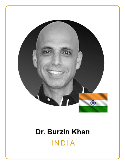 Dr. Burzin Khan India Speaker