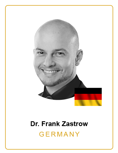 Dr. Frank Zastrow German Speaker