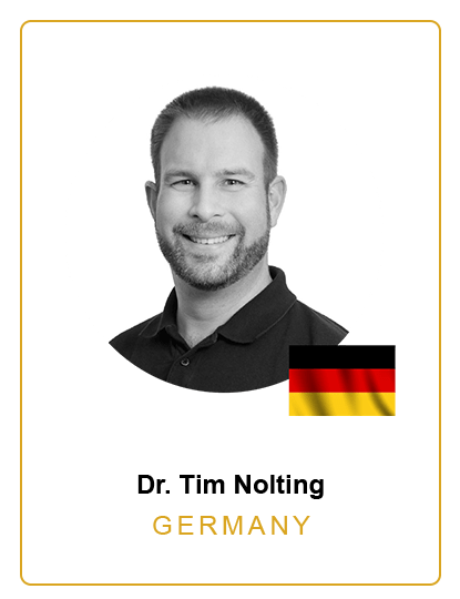 Dr. Tim Nolting Germany Speaker
