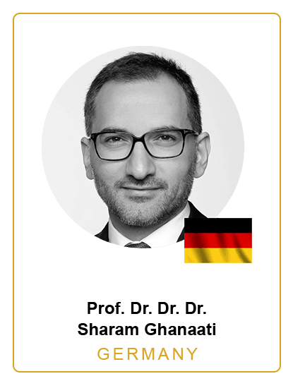 Prof. Dr. Dr. Dr. Sharam Ghanaati Germany Speaker